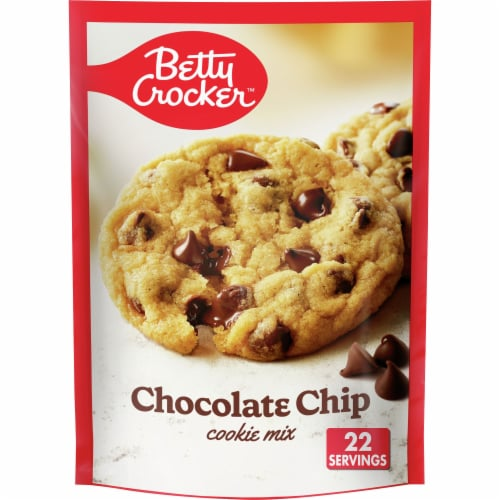 Betty Crocker Chocolate Chip Cookie Mix Perspective: front