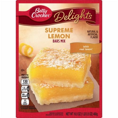 Betty Crocker Delights Supreme Lemon Bars Mix Perspective: front