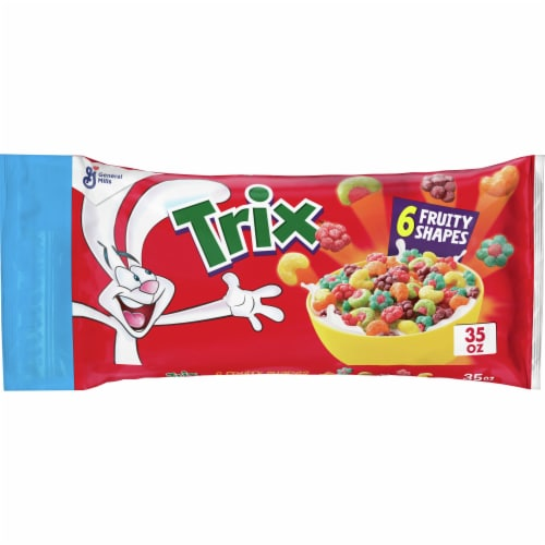 Trix Cereal Perspective: front