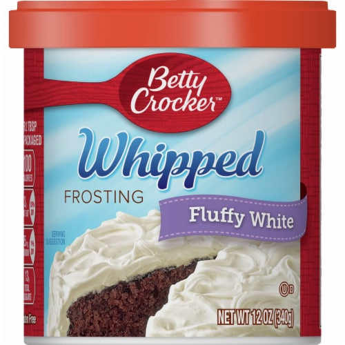 Betty Crocker Whipped Fluffy White Frosting Perspective: front