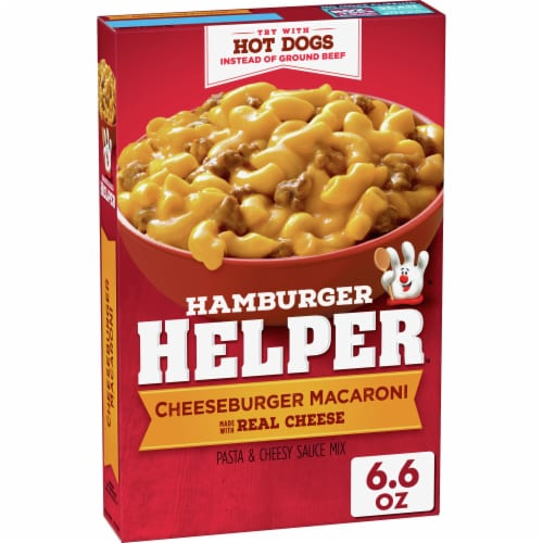 Hamburger Helper Cheeseburger Macaroni Meal Perspective: front