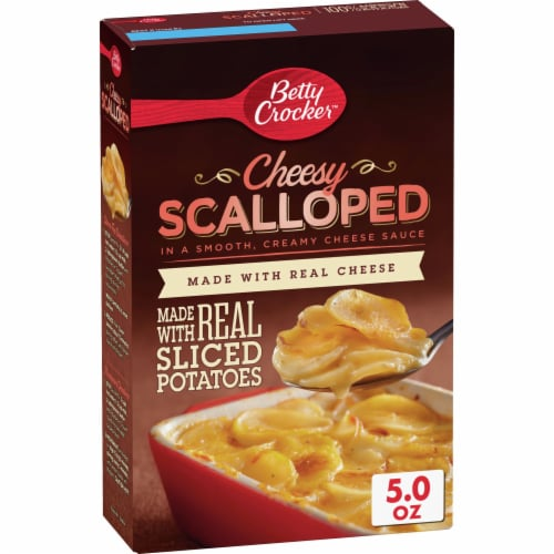 Betty Crocker Cheesy Scalloped Potatoes Perspective: front