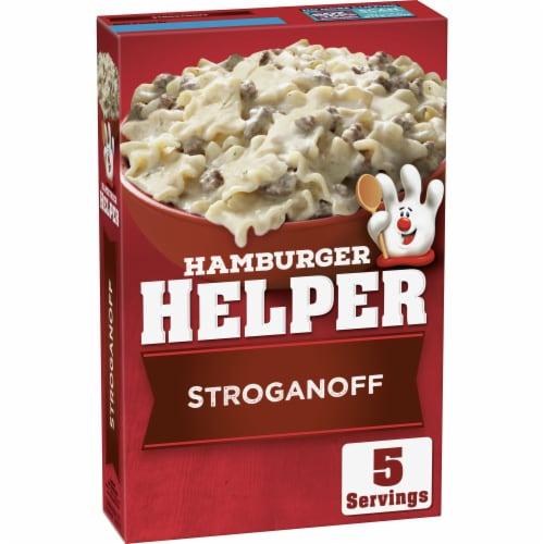 Hamburger Helper Stroganoff Meal Perspective: front