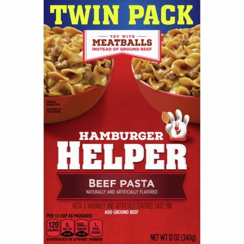 Hamburger Helper Beef Pasta & Sauce Mix Twin Pack Perspective: front