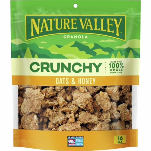 Nature Valley™ Crunchy Oats & Honey Granola Perspective: front