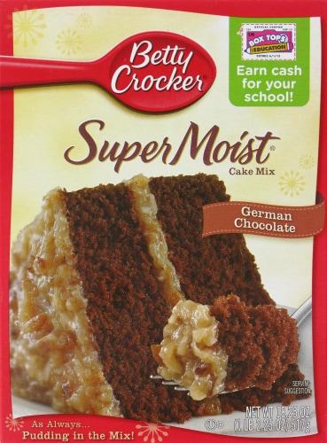 baker s betty crocker super moist german chocolate cake mix