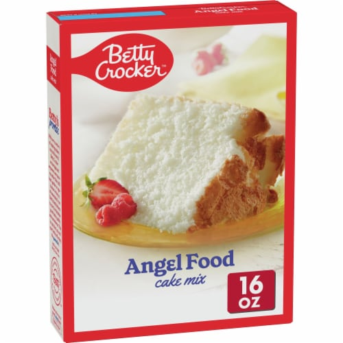 Betty Crocker Angel Food Cake Mix Perspective: front
