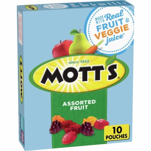 Mott's Assorted Fruit Flavored Snacks Perspective: front