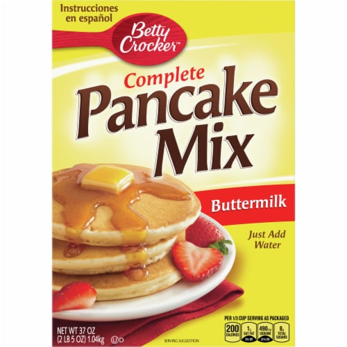 Betty Crocker Complete Buttermilk Pancake Mix Perspective: front