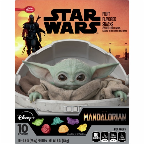 Betty Crocker Star Wars Fruit Flavored Snacks Perspective: front
