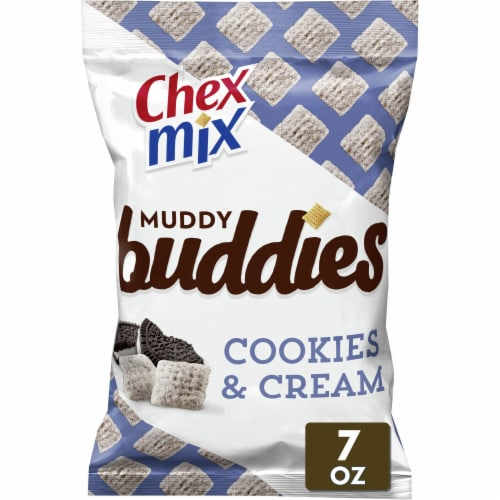 Chex Mix Cookies & Cream Muddy Buddies Perspective: front