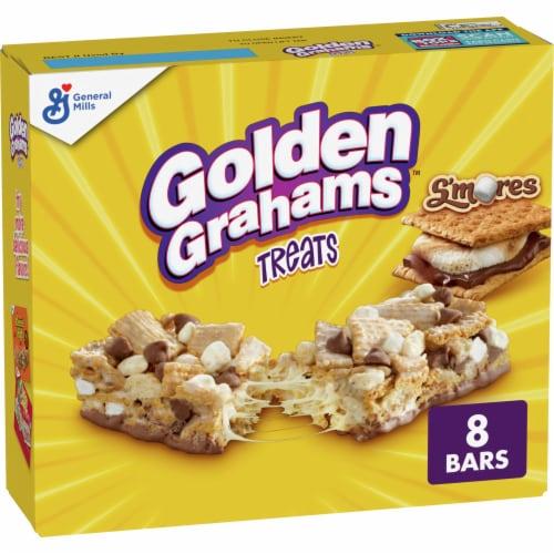 General Mills Golden Grahams Smores Treat Bars Perspective: front