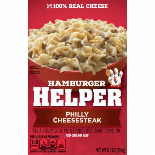 Hamburger Helper Philly Cheesesteak Mix Perspective: front