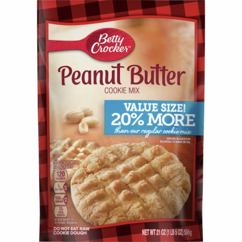 Betty Crocker™ Value Size Peanut Butter Cookie Mix Perspective: front