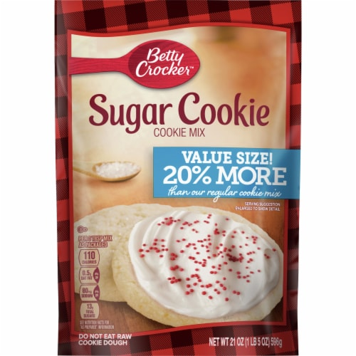 Betty Crocker Value Size Sugar Cookie Mix Perspective: front