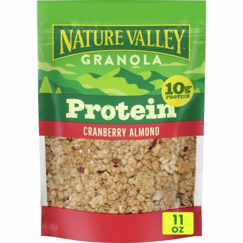 Nature Valley Cranberry Almond Protein Granola Perspective: front