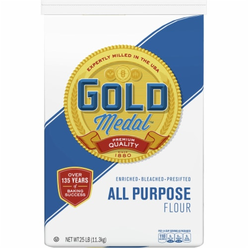 Gold Medal All Purpose Flour Perspective: front