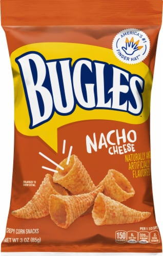 Bugles Nacho Cheese Perspective: front