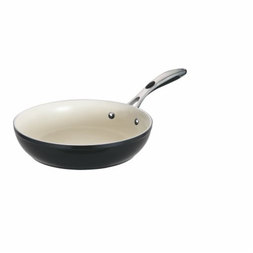 Tramontina Gourmet Fry Pan - Black Perspective: front