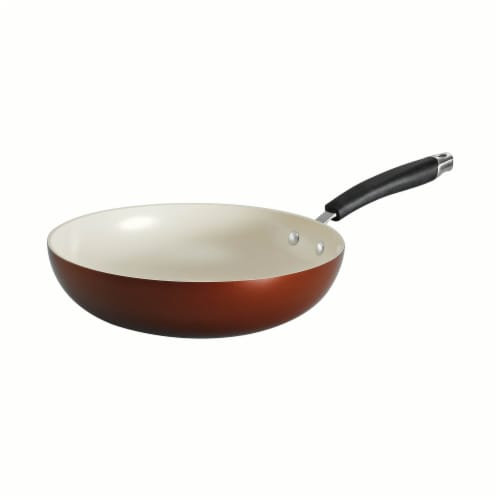 Tramontina Stir-Fry Pan - Copper Perspective: front