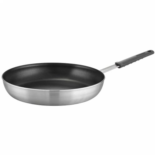 Tramontina Restaurant Fry Pan - Gray Perspective: front