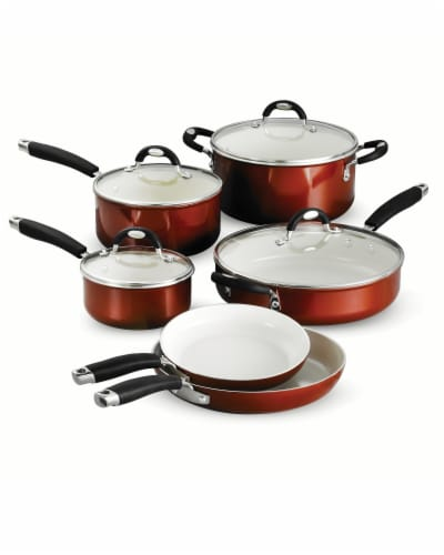 Tramontina Cookware Set - Copper Perspective: front