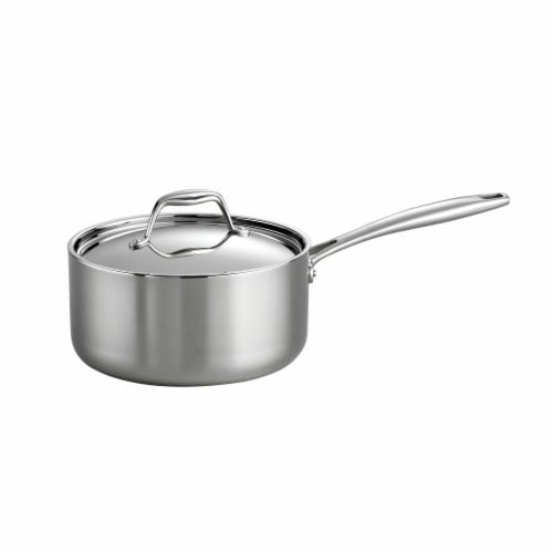 Tramontina Covered Saucepan Perspective: front