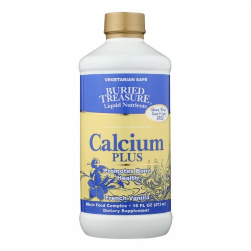 Buried Treasure Calcium Plus French Vanilla Perspective: front