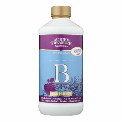 Buried Treasure B Complete Liquid Supplement Perspective: front