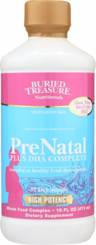 Buried Treasure  PreNatal Plus DHA Complete Perspective: front