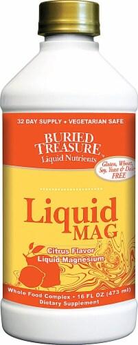 Buried Treasure  Liquid Magnesium   Citrus Perspective: front