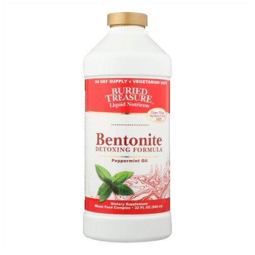 Buried Treasure  Bentonite™ Detoxing Formula   Peppermint Oil Perspective: front
