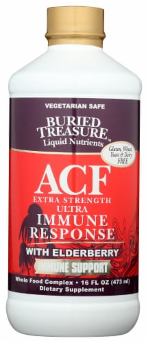 Buried Treasure ACF Extra Strength Immune Response Perspective: front