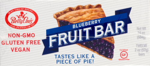 Betty Lou's Blueberry Fruit Pie Perspective: front