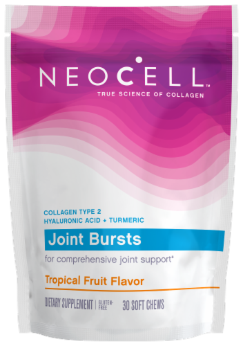 NeoCell Joint Bursts Tropical Tang Soft Chews Perspective: front