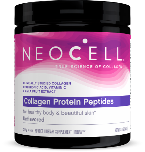 NeoCell Protein Peptides Supplement Perspective: front