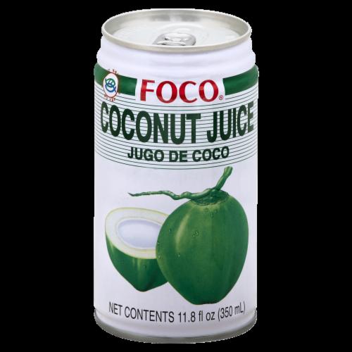 Foco Coconut Juice Perspective: front