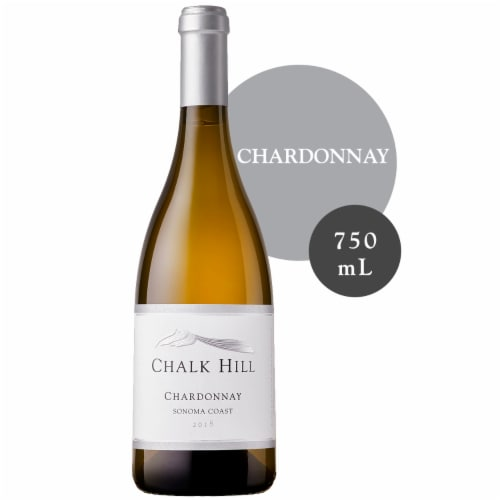 Chalk Hill Chardonnay White Wine Perspective: front