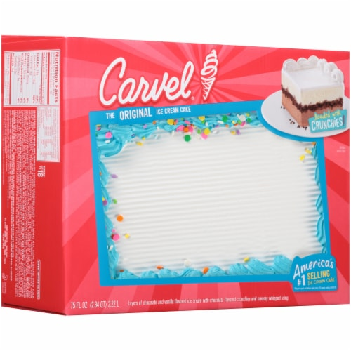 Kroger Carvel Celebration Ice Cream Cake