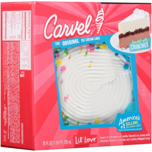 Carvel Lil' Love Ice Cream Cake Perspective: front