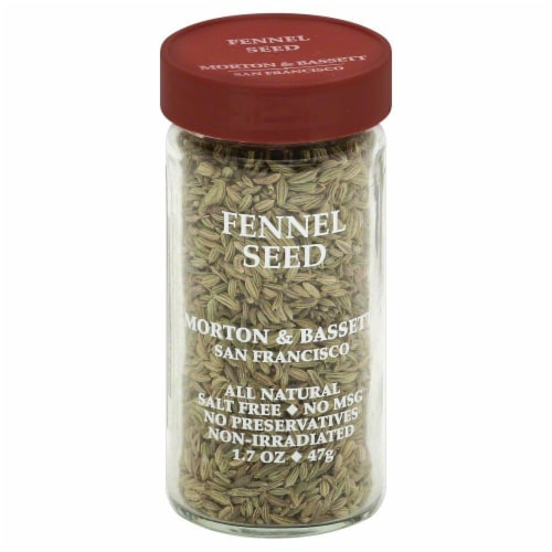 Morton & Bassett All Natural Fennel Seed Perspective: front