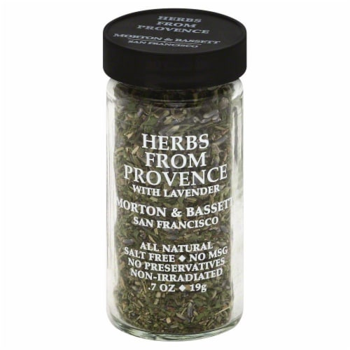 Morton & Bassett All Natural Herbs From Provence with Lavender Perspective: front