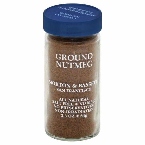 Morton & Bassett All Natural Ground Nutmeg Perspective: front