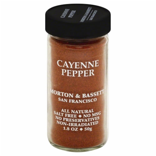Morton & Bassett All Natural Cayenne Pepper Perspective: front