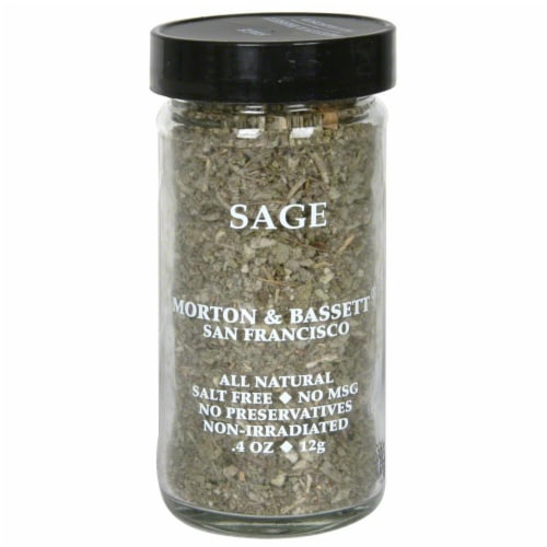Morton & Bassett All Natural Sage Perspective: front
