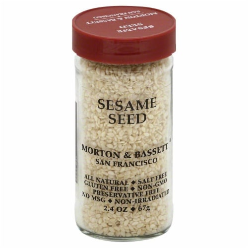 Morton & Bassett All Natural Sesame Seed Perspective: front