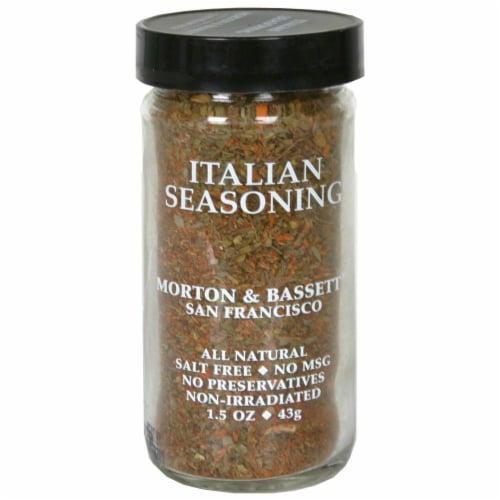 Morton & Bassett All Natural Italian Seasoning Perspective: front