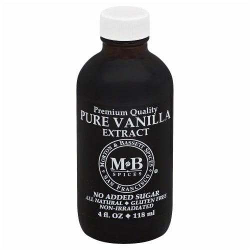 Morton & Bassett Premium Quality Pure Vanilla Extract Perspective: front