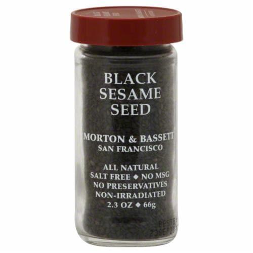 Morton & Bassett Black Sesame Seed Perspective: front