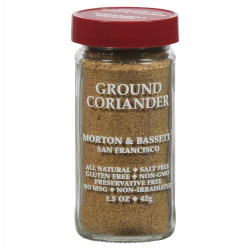 Morton & Bassett All Natural Ground Coriander Perspective: front